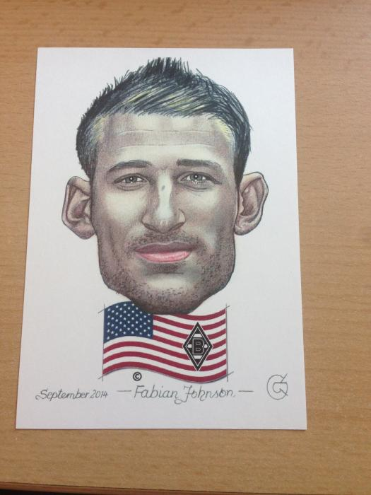 Karikatur Fabian Johnson