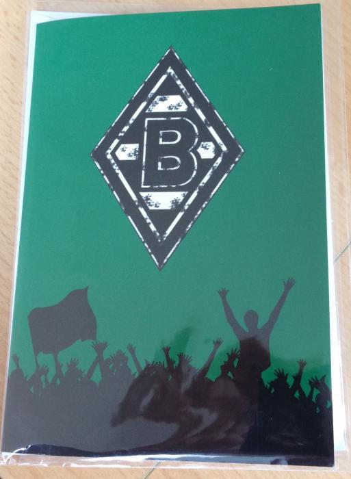 Borussia-Glückwunschkarte