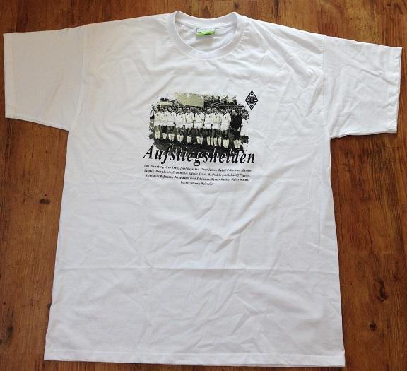 T-Shirt Aufstiegshelden Vorderseite
