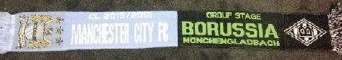 CL-Schal Man City - Borussia